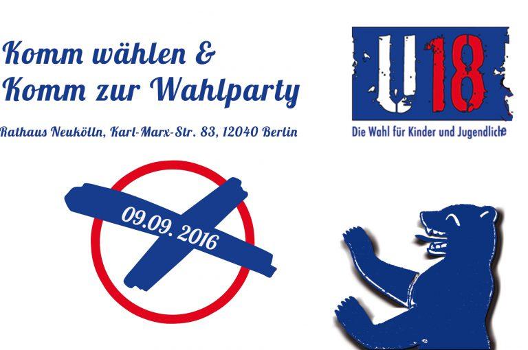 U18 Wahlparty