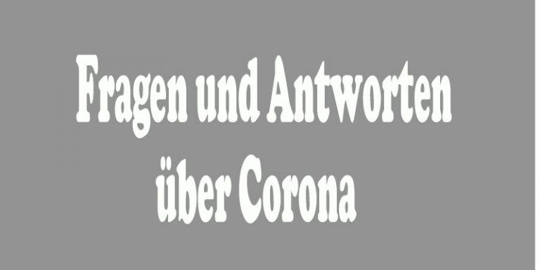 fragen und antworten über corona