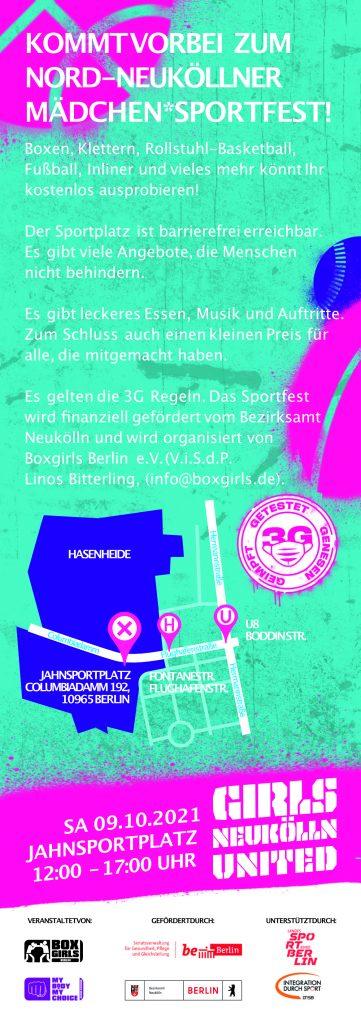 Mädchen Sportfest